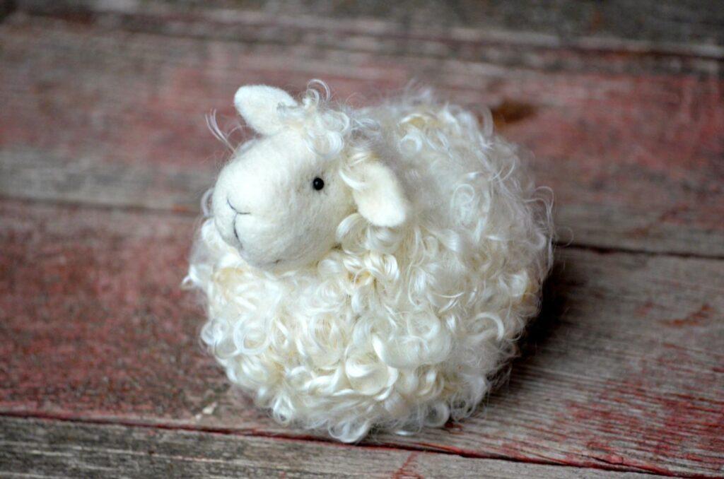 Diy Needle Felted Sheep Kit